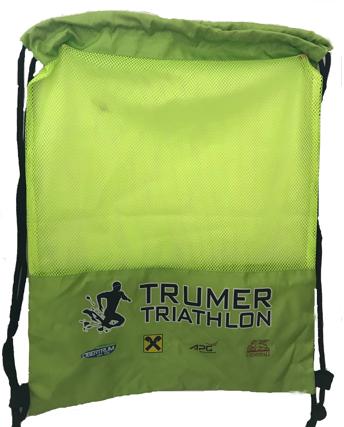 Turnbeutel des Trumer Triathlons im Shop