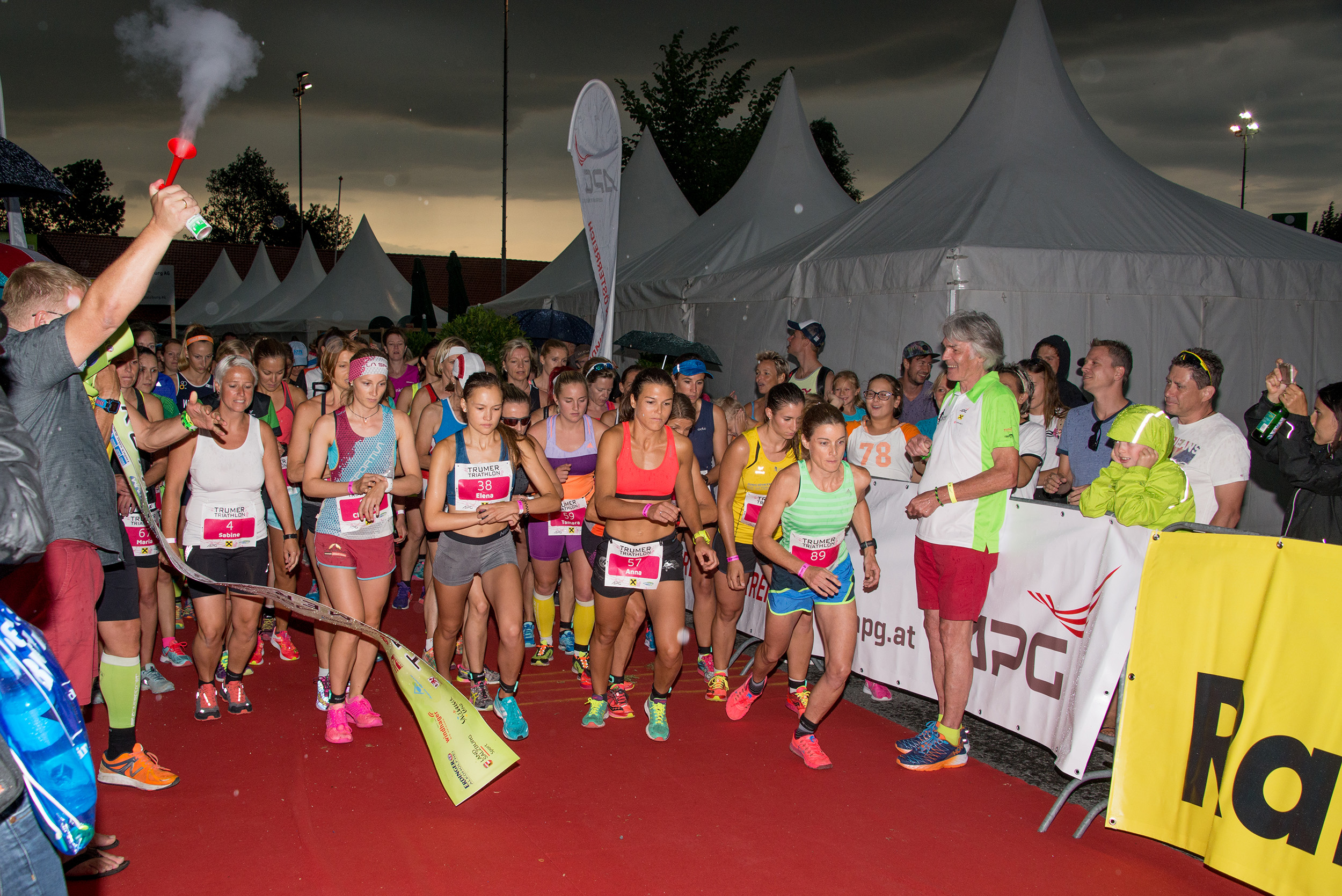 Start zum Trumer Ladies Run